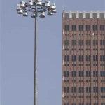 Sistemas de alto montaje para iluminación exterior de grandes áreas