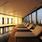 Spa y Terraza del Sheraton, iluminación que conforta