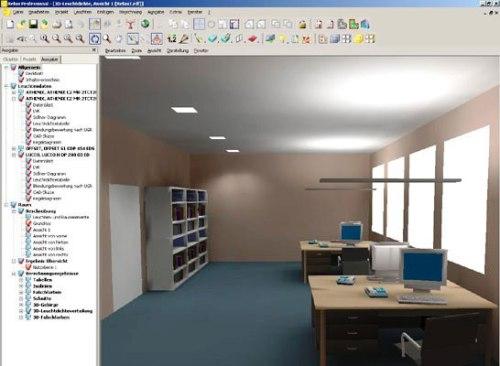 Software para el diseño de iluminación     Iluminet revista de