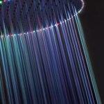 LEDs hasta en la ducha