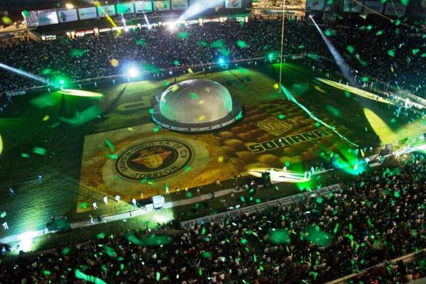 Estadio luces