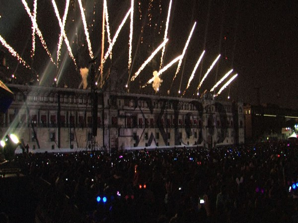 México espectáculo de luces