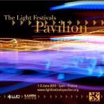 Un pabellón para los festivales de la luz: LumiVille