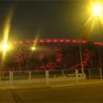 Iluminación interactiva en el Estadio Nacional del Perú