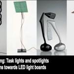 99 diseños innovadores LED para el trabajo de escritorio