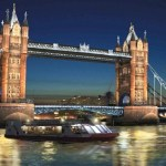 Tower Bridge, en Londres, se ilumina con LEDs para los Juegos Olímpicos