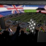 El Estadio Olímpico de Londres, una pantalla gigante de LEDs