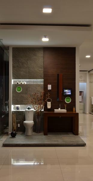 Para destacar pisos azulejos y muebles de ba o de alta for Losetas para banos modernos