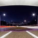 Iluminación creativa que brinda seguridad