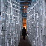 Túnel, instalación lumínica en Segovia