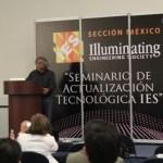 LEDs en el Seminario de Actualización Tecnológica de la IES