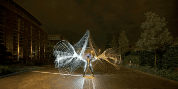 Light art Preformance Photography