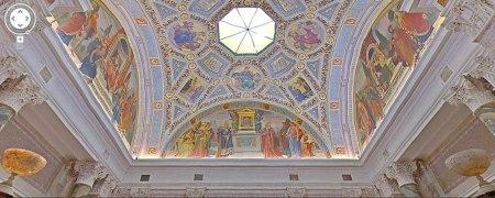 Detalles del techo del museo