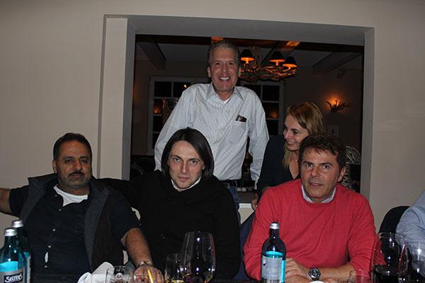 Luigi Pederzani , Danilo Bettinazzi,  Mohamed El Beiba General, Alan Barson y Claudia Harari de BHP Energy México