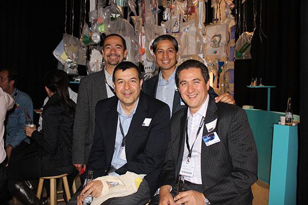 Luis J. Jorge Ávila, Antonio Garza y Sergio Villalón