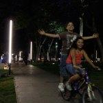 La luz reivindica y da nueva identidad a la Plaza Cívica de Iztapalapa