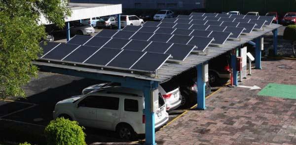 Estacionamiento Solar Schneider Electric
