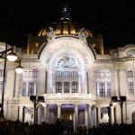 Bellas Artes festeja su 80 aniversario con nueva iluminación
