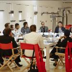 Mesa redonda entre diseñadores y arquitectos en iGuzzini