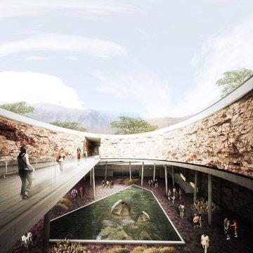 Puente del jardín botánico