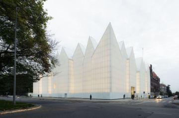 Filarmónica de Szczecin, Polonia; de Estudio Barozzi Veiga ©Simon Menges.