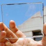 Celdas solares transparentes