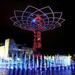 """ACT lighting design ilumina el """"Albero della Vita"""" en la EXPO 2015 de Milán"""