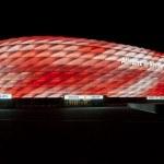 El Allianz Arena renueva la iluminación de su fachada