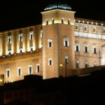 La Iluminación del Alcázar de Toledo acentúa su majestuosidad en el panorama nocturno de la ciudad