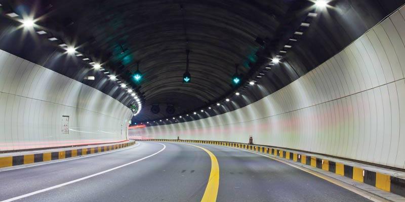 Iluminación de Túneles con LEDs