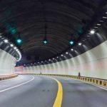 Luminarios LED para la iluminación general de túneles vehiculares