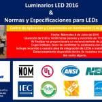 Curso: Normas y especificaciones para LEDs