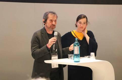 Don Slater y Elettra Bordonaro
