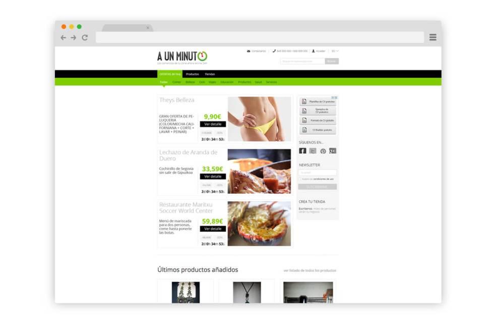 Web Aunminuto.com
