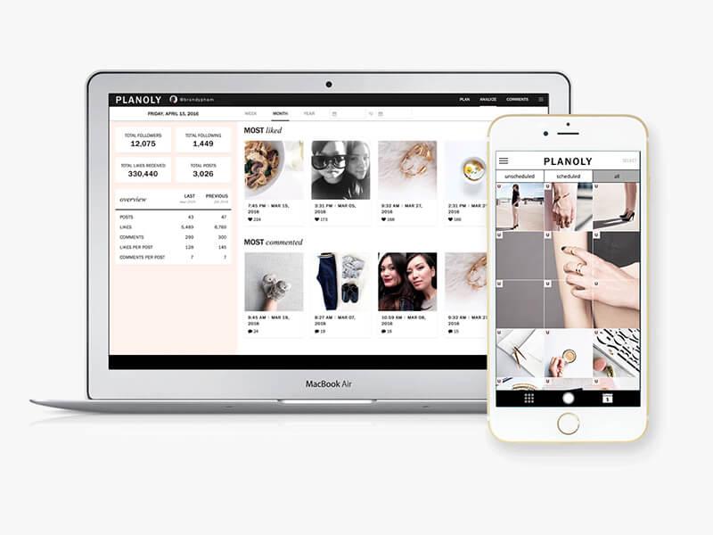 Cómo gestionar y programar Instagram con Planoly