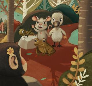ratones y zapo