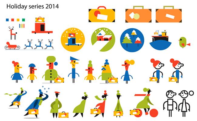 Holidays series 2014 mini