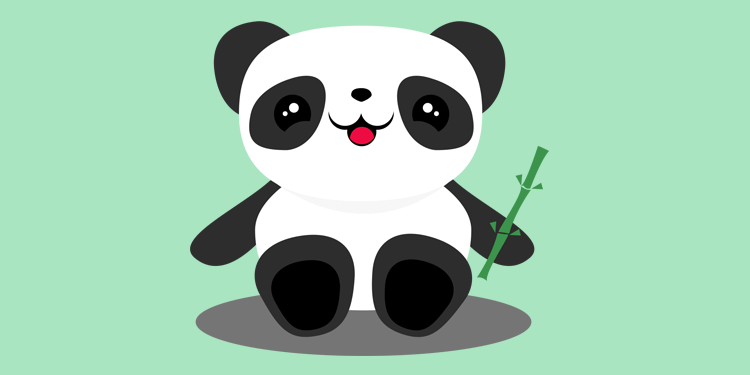 previa oso panda illustrator