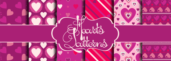 Cute Hearts Patterns