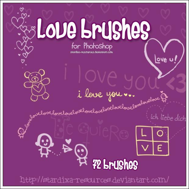 Love brushes