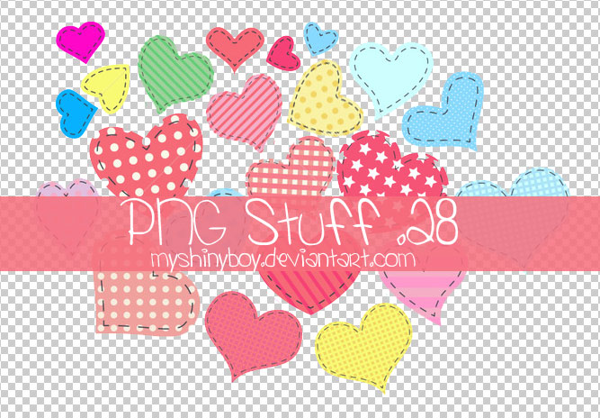 PNG Stuff .28 - Hearts