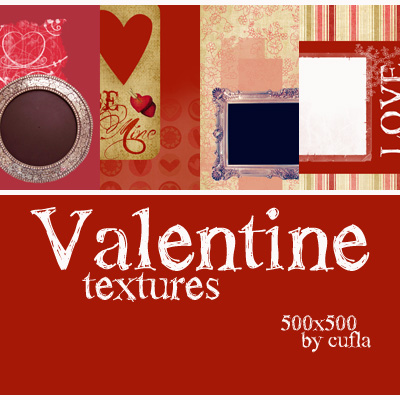 Valentine textures