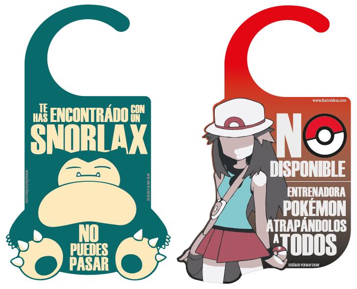 Colgadores de Puerta Pokémon parte 2