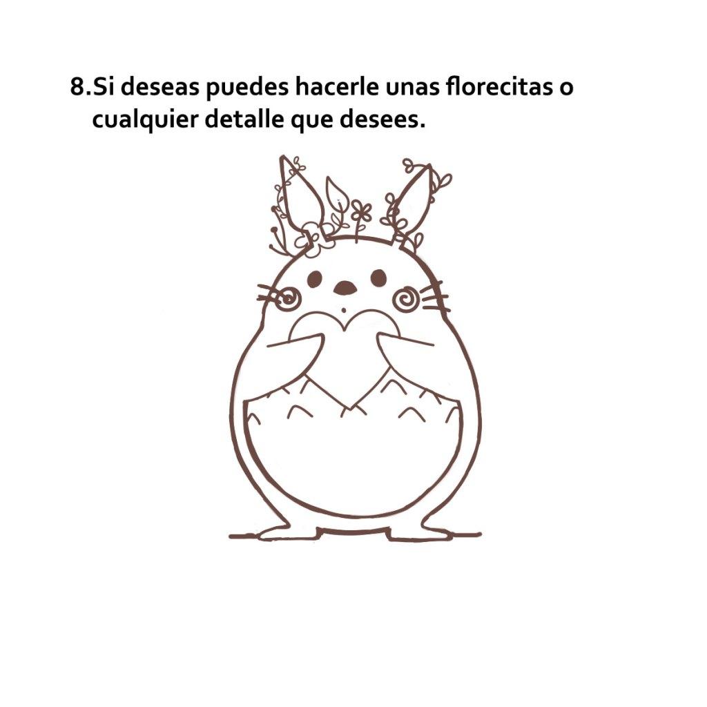 Tutorial de como dibujar a Totoro