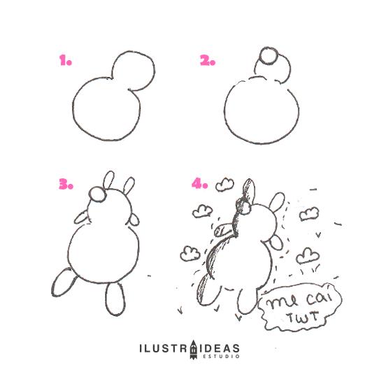 8 dibujos fáciles para principiantes_rabbit