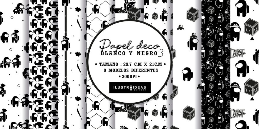 papel_deco_blanco_y_negro_amongus