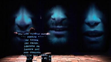 """Valter Malosti in """"Se questo è un uomo"""" (foto Tommaso Le Pera)"""
