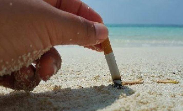 fumo spiaggia vietato