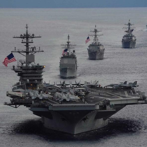 proteggere navi iran