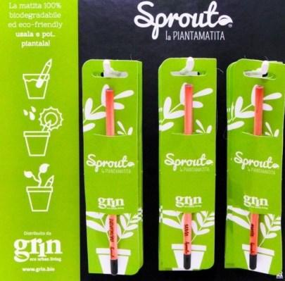 Matita Sprout biodegradabile